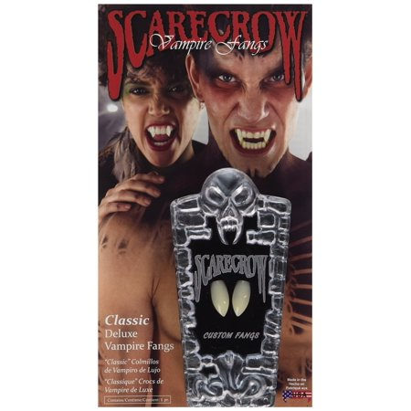 Scarecrow Classic Deluxe Fangs - Scarecrow Vampire Fangs Small