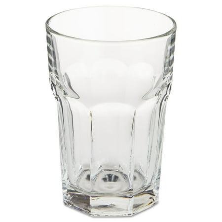 Gibraltar Glass Tumblers, Beverage, 12oz, 4 7/8 Tall, 36/Carton