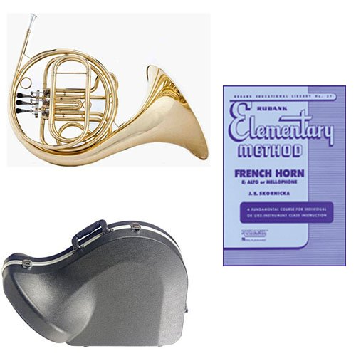 Band Directors Choice Single French Horn in F Rubank Elementary Method Pack; Includes... by Band Directors Choice