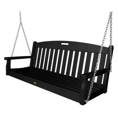 Trex Outdoor Furniture Recycled Plastic 5 ft. Yacht Club Porch Swing