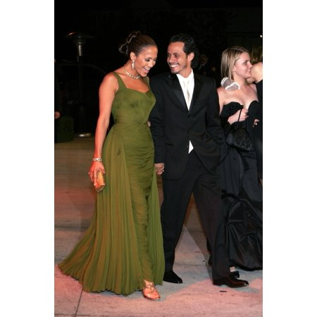Jennifer Lopez Marc Anthony At Arrivals For Vanity Fair Oscar Party Mortons Restaurant In West Hollywood Los Angeles Ca Sunday March 05 2006 Photo By Jeff SmithEverett Collection Celebrity for $<!---->