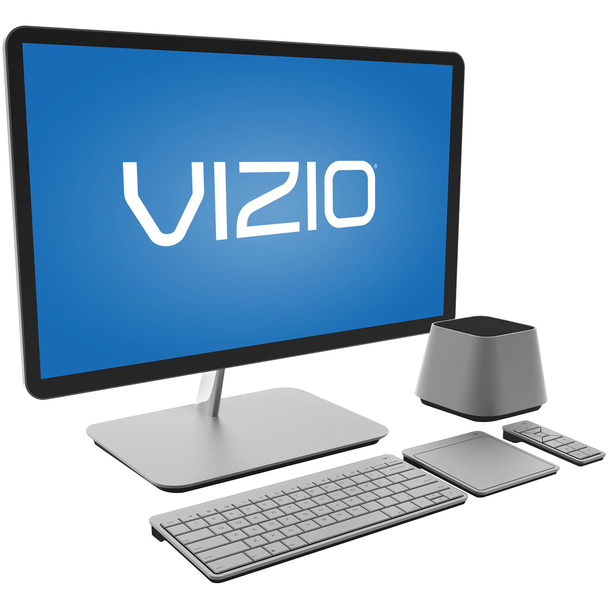 """VIZIO Silver 24"""" CA24-A1 All-in-One Desktop PC with Intel Core i5-3210M Processor with 24"""" HD Monitor and Windows 7 Home Premium"""