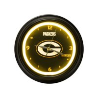 FOCO - NFL LED Clock, Green Bay Packers
