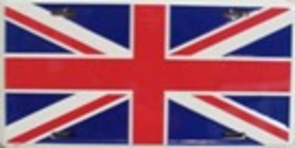 FREE POST picnic // car travel blanket Union Jack Fleece Blanket