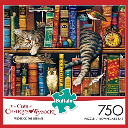 750pc Wysocki Cats Puzzle Asrt