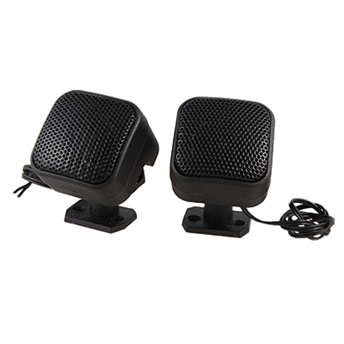 Auto Car Cubic Tweeters Audio Speakers Black 100-150W