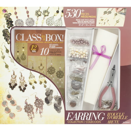 Gold Jewelry Making Supplies (Cousin Jewelry Class in a Box Kit, Gold and Copper)