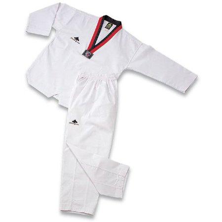 Pine Tree Taekwondo Uniform - Ribbed Fabric with Poom V-Neck