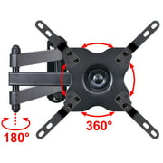 """VideoSecu Tilt Swivel TV Wall Mount for most 27 28 29 32 37 39 40 42 43"""" LED LCD HDTV Monitor, some models up to 47"""" Flat Panel Screen, Full Motion Articulating Bracket with VESA 200x200/100x100mm BLD"""