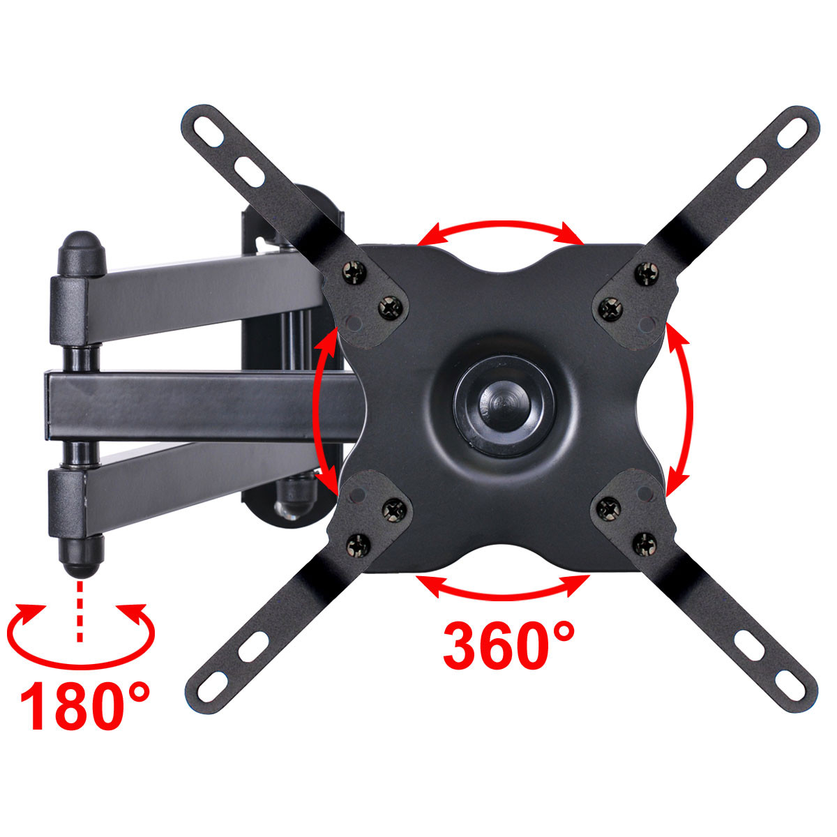 VideoSecu Tilt Swivel TV Wall Mount LCD LED Bracket for VIZIO 32 inch E24-C1 E28H-C1 D32h-C1 E320-B2 E320-A1 E320-B1 WS2