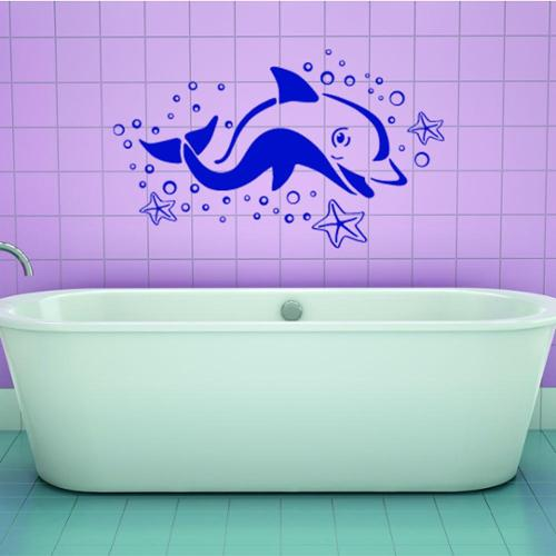Style and Apply Dolphin Animal Vinyl Wall Art
