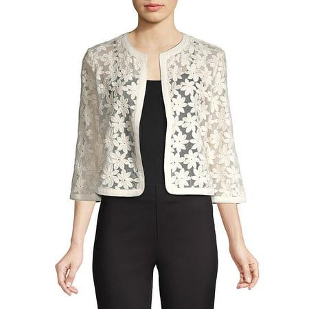 Floral Lace Cardigan Calvin Klein Cotton Cardigan