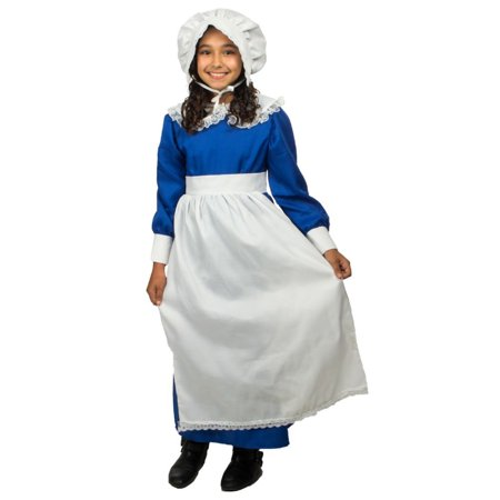 Colonial Girl Costume - Girlscout Costume