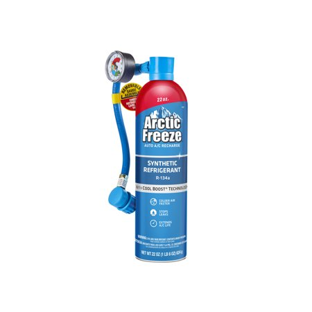 Arctic Freeze Auto AC Recharge Ultra Synthetic R-134a Kit, 22