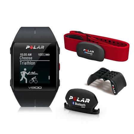 Polar V800 Special Edition Fitness Watch w/ GPS & HRM - Black