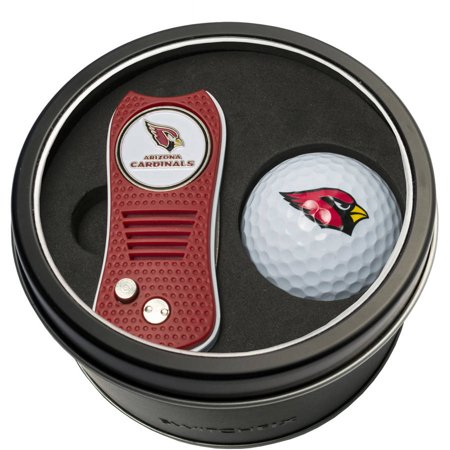 Wilson Denver Broncos Golf (Team Golf NFL Tin Gift Set with Switchfix Divot Tool and Golf Ball)