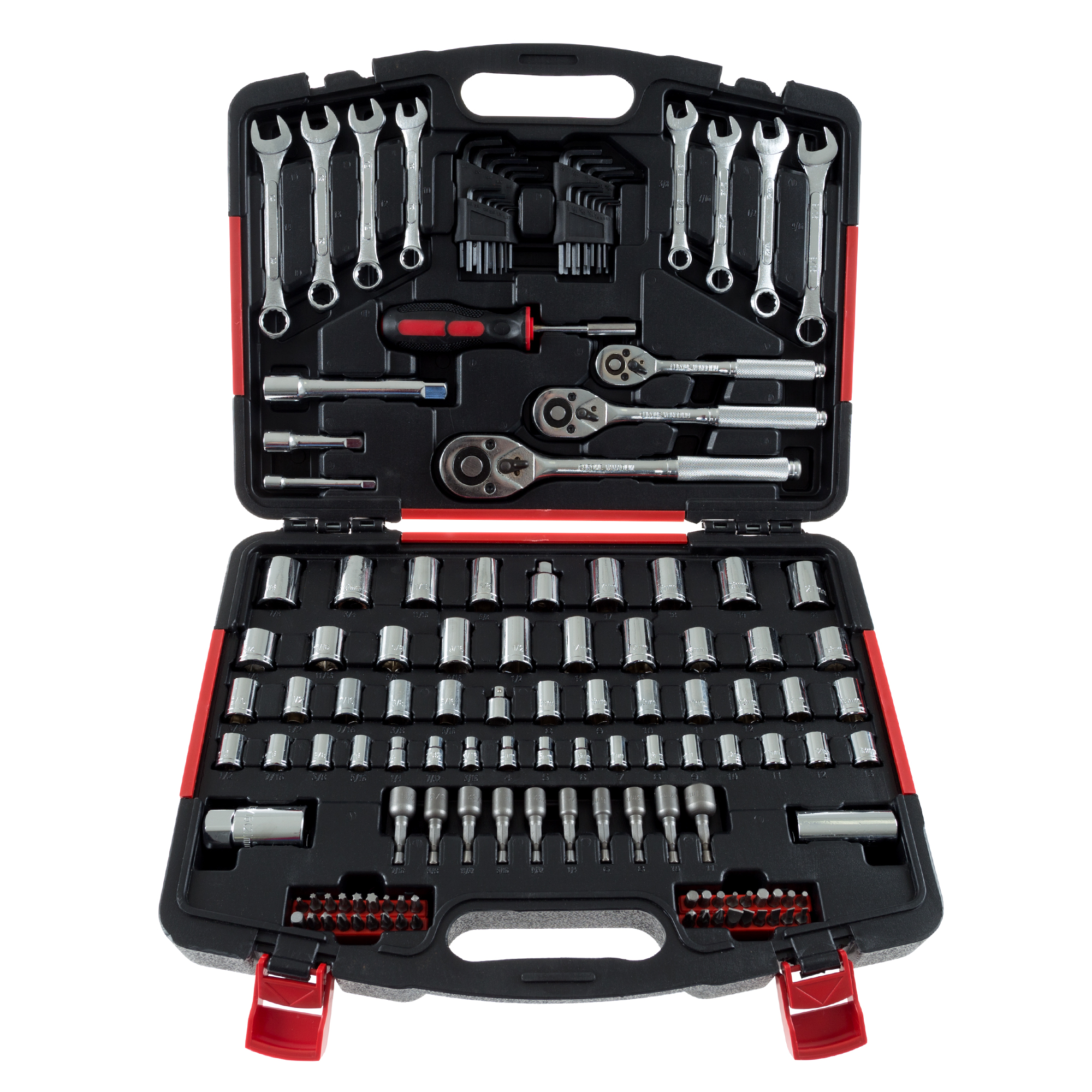 Stalwart 135-Piece Hand Tool Set Garage and Home by Trademark Global LLC