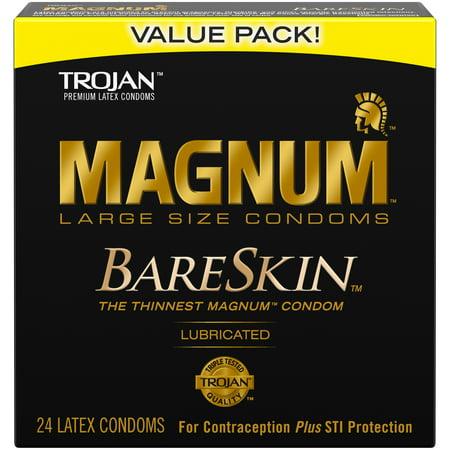 MAGNUM Bare Skin Condoms, 24ct - Condom Costume
