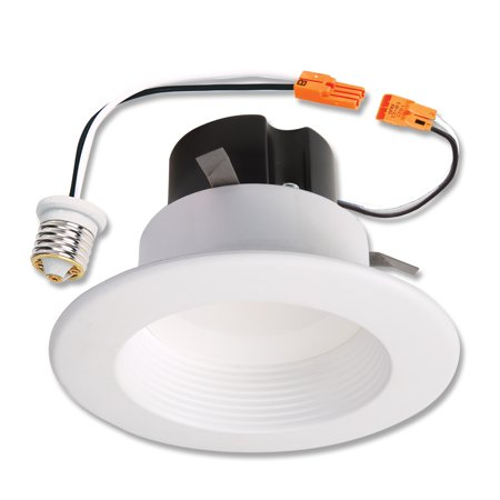 Halo Recessed Lighting Rl460wh940 4 4000k White Led Baffle Trim Module