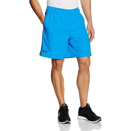 Under Armour Men HeatGear Mirage 8 Inch Running Training Shorts Blue Large