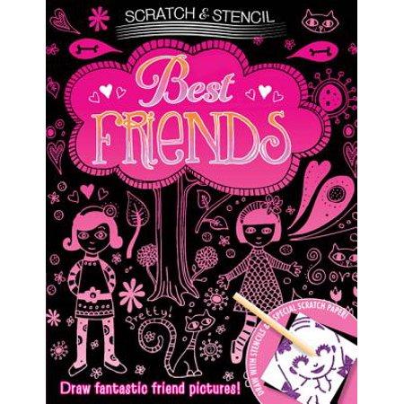 Scratch & Stencil: Best Friends