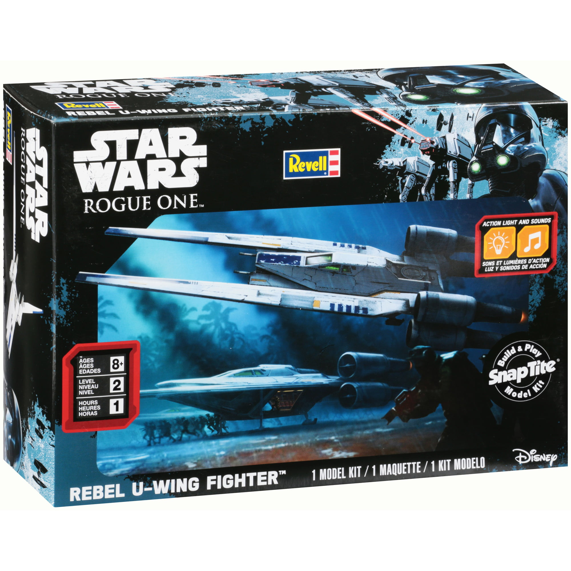 Revell Star Wars Rogue One Rebel U-Wing Fighter Model Kit 35 pc Box by Revell Inc.