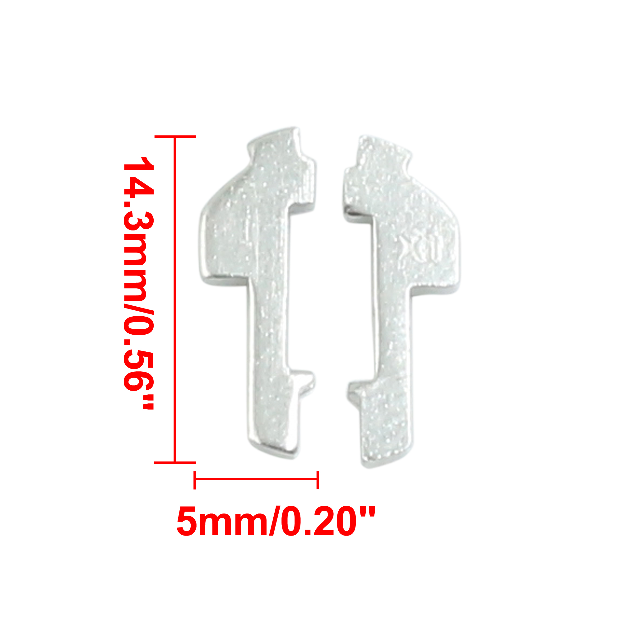 30pcs 14.3mm x 5mm Car Ignition Lock Cylinder Reed Auto Locking Plate for Honda - image 1 de 2