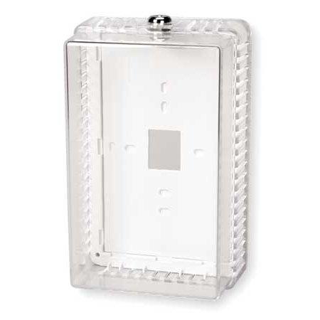 - Unvrsl Thermostat Guard,Clear,Plstc 2E706
