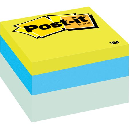 Take Note Cube (Post-it®, MMM2056RC, Ribbon Candy Notes Cube, Assorted)
