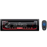 JVC Mobile KD-R490 KD-R490 Single-DIN In-Dash AM/FM CD Receiver
