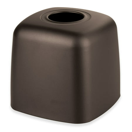 - InterDesign Olivia Facial Tissue Box Cover/Holder, Bronze
