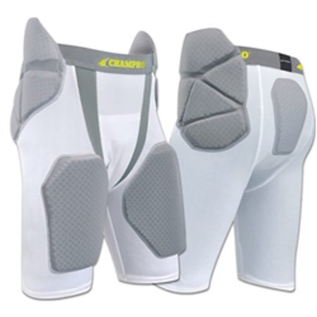 Champro Dri Gear Football - Champro Tri-Flex Football Girdle with Built-in Pads
