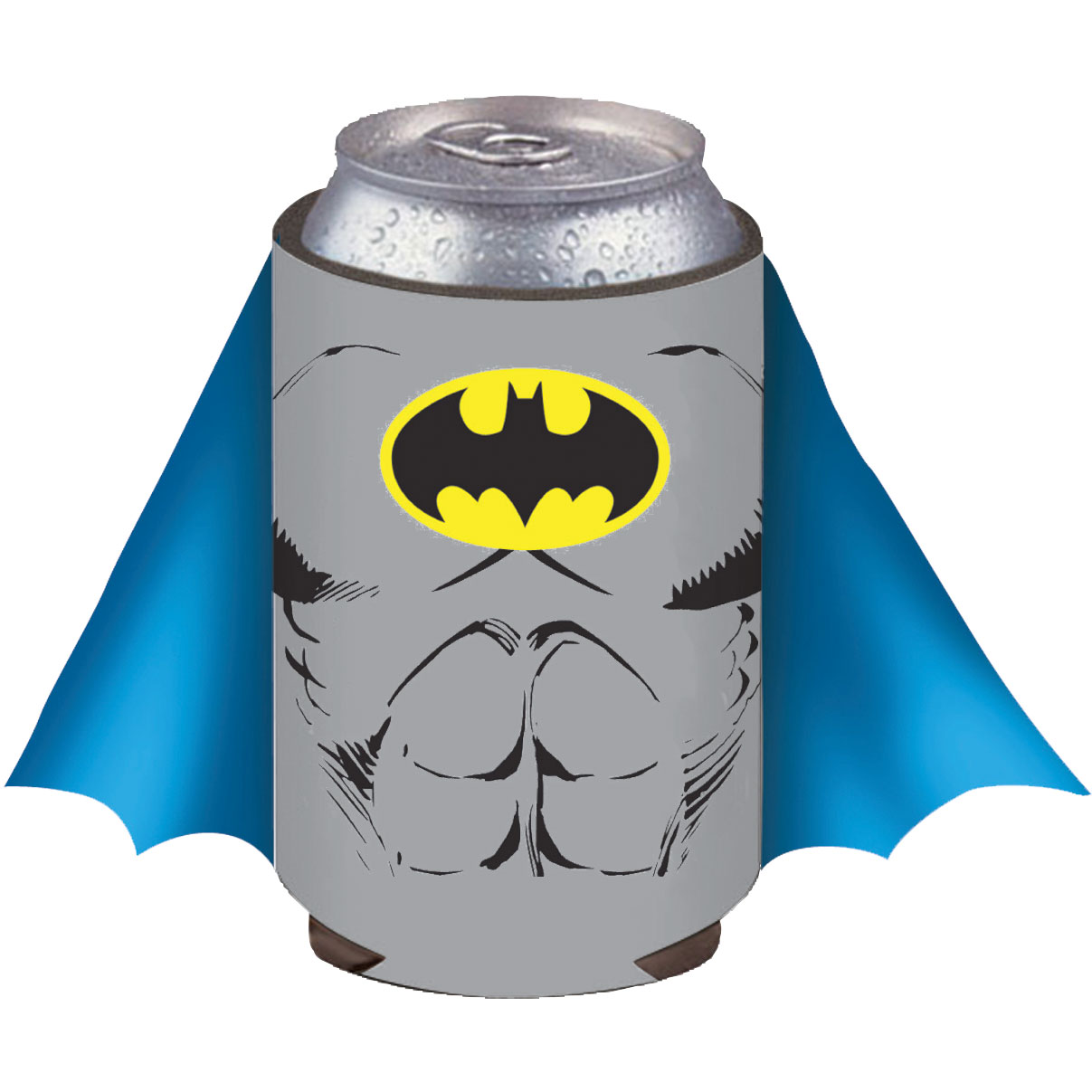 DC Comics Batman Blue Caped Can Cooler