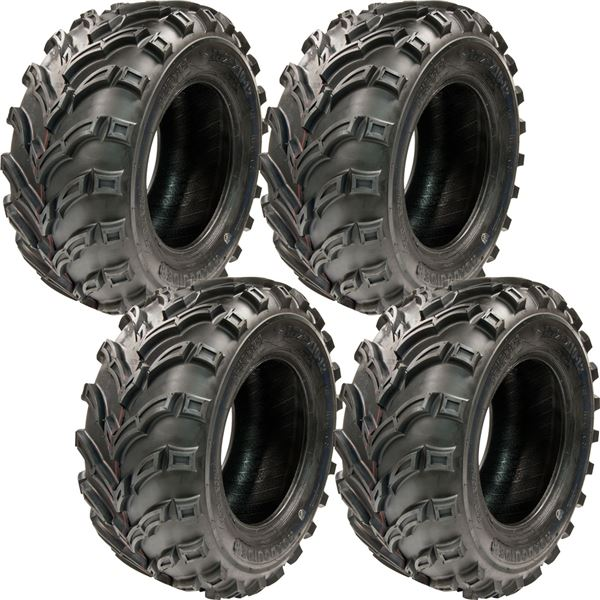 25x10 12 Tg Q373 Atv Utility 6 Ply Mud Sand V Tread Mars Tires 4