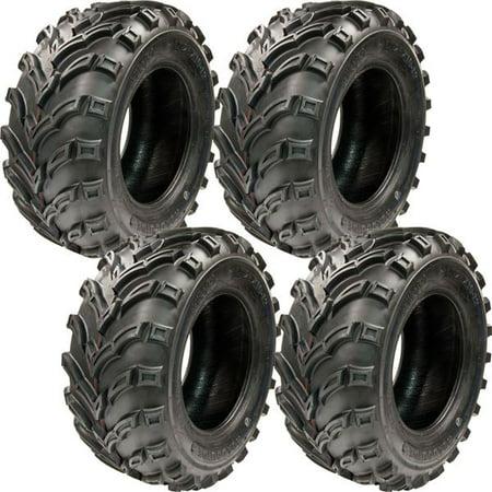 25x10 12 Tg Q373 Atv Utility 6 Ply Mud Sand V Tread Mars Tires 4