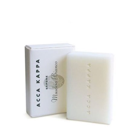 Acca Kappa White Moss Vegetable-Based Soap - Set of 3, 3.5 Oz /100 G Acca Kappa Vegetable Soap