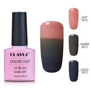 Clavuz 10ml Gel Nail Polish Soak Off Color Changing Lacquer Art Long Lasting Manicure