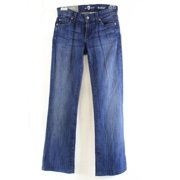 7 For All Mankind NEW Women's Size 24 Dark Wash Boot Cut Leg Jeans