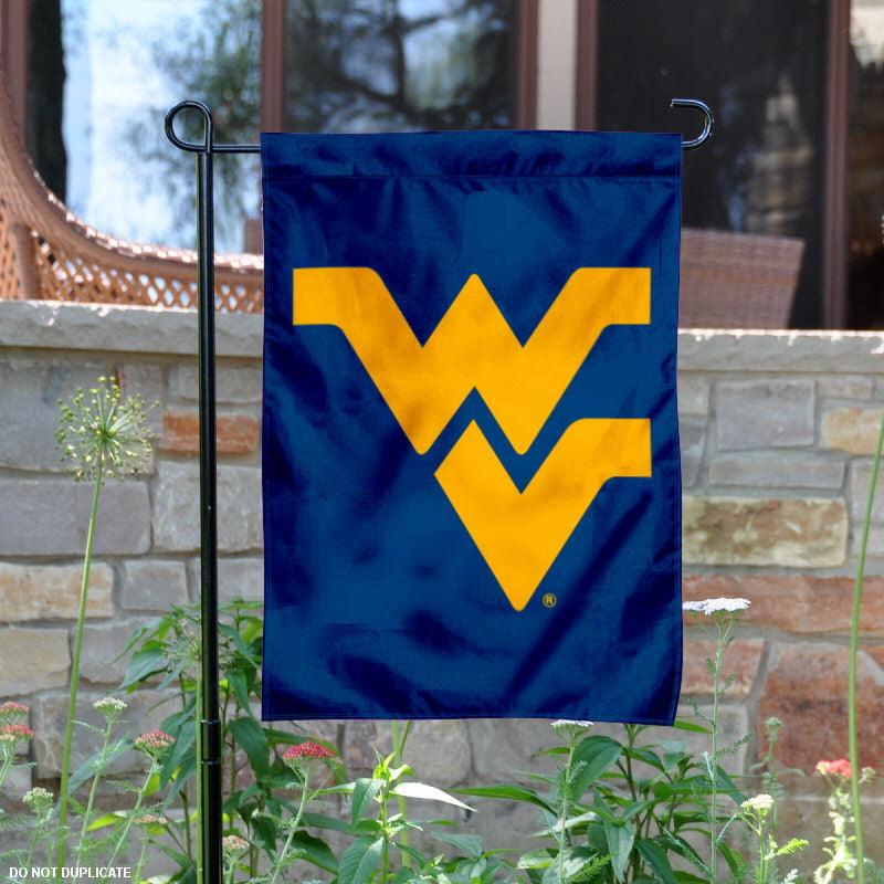 "West Virginia Mountaineers Blue 13"" x 18"" College Garden Flag"