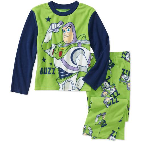Disney Boys' Buzz Lightyear 2-Piece Microfleece Pajama Set