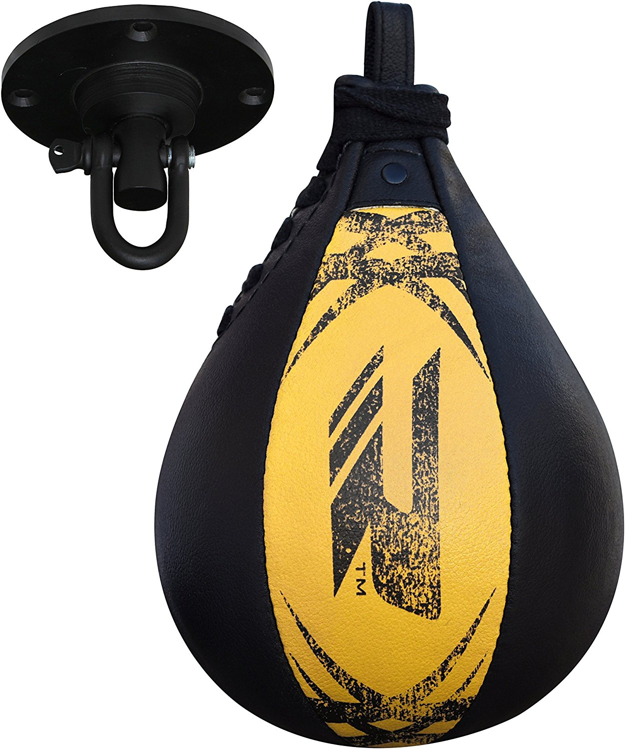 Upgrade BOXING SPEEDBALL MMA PUNCHING BAG w// SWIVEL Speed Ball Training Workout