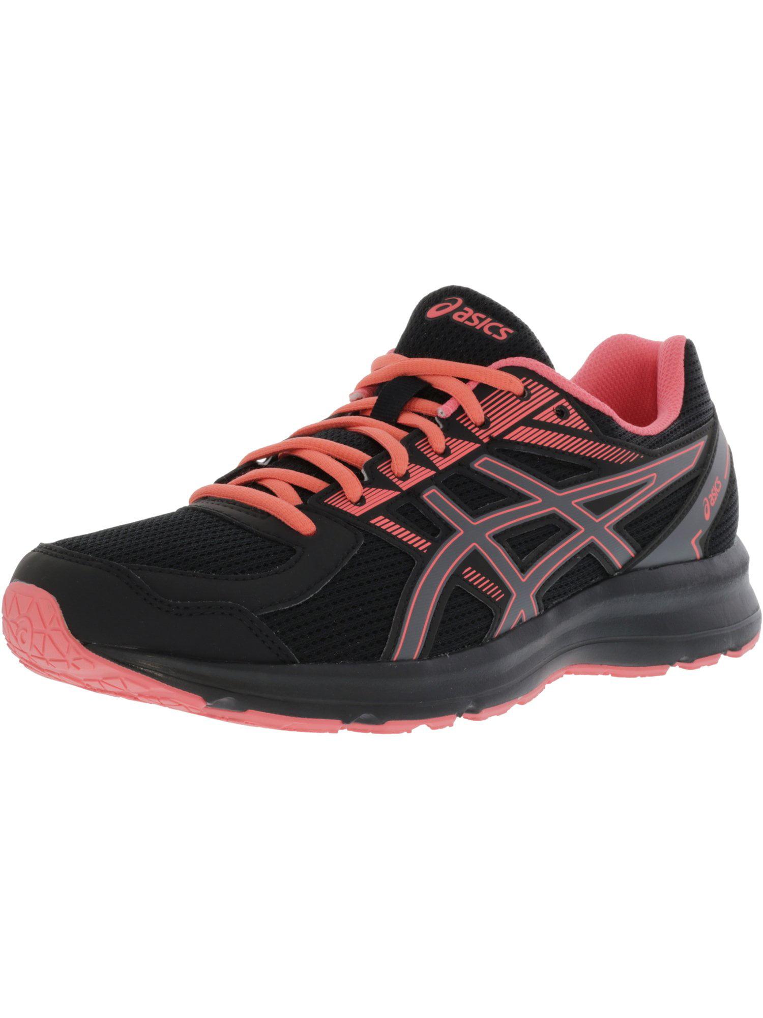 Asics Women's Jolt Black / Carbon Peach Ankle-High Running Shoe - 10.5M