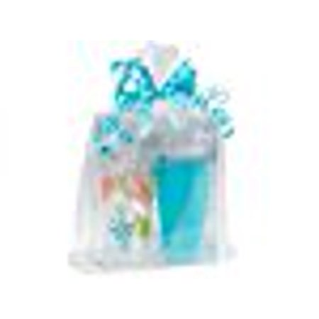 A1BakerySupplies Clear Cellophane Bags Basket Bags Cello Gift Bags Gusset style bag (12 in. X 4 in X 20 In). 10 Pack