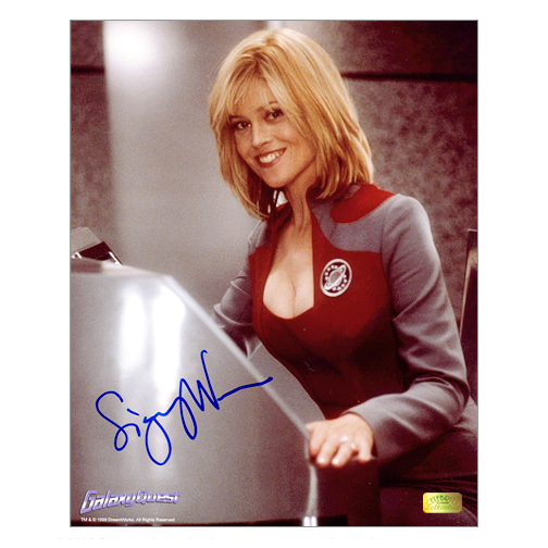 Sigourney Weaver Autographed 8?10 Galaxy Quest Photo