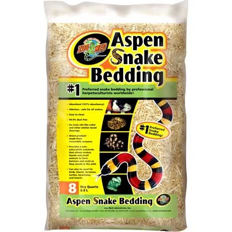 Zoo Med Aspen Snake Bedding by Zoo Med