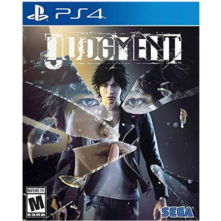 Judgment, Sega, PlayStation 4, 010086632446