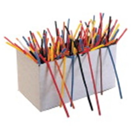 Chenille Kraft Creativity Street Super Stem Multi-Purpose Wire Pipe Cleaner, 0.312 x 12 in., Assorted Color - Pack of 50