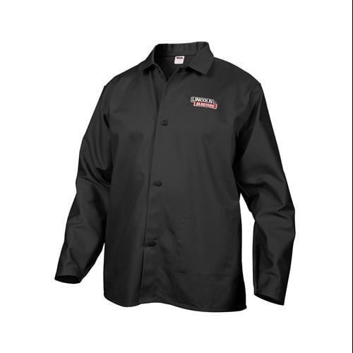 Lincoln Electric KH808L Black Welding Jacket, Large
