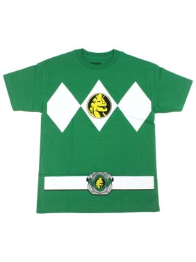a23bf970c74 Product Image Mighty Morphin Power Rangers Green Ranger Mens T-Shirt