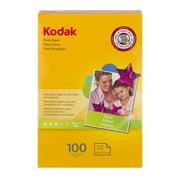 Kodak 4x6 Gloss Inkjet Photo Paper - 100 Sheets